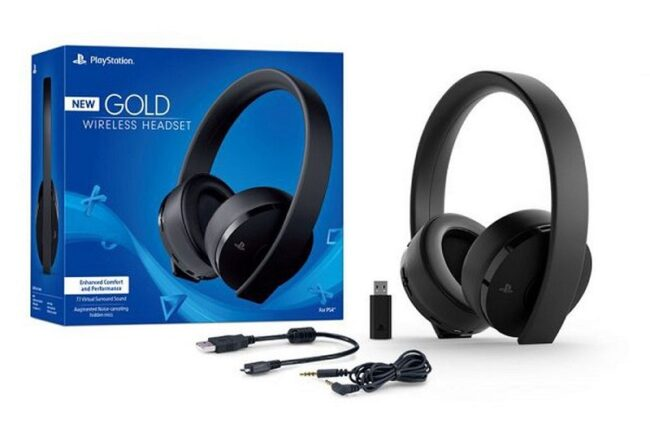 Headset Playstation Gold Wireless